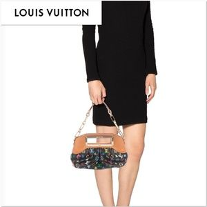Authentic Louis Vuitton Judy PM Chain Black Multic
